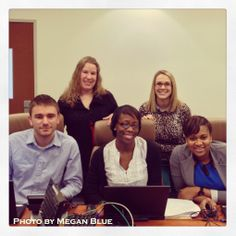 #UMUC advisors prepping for a webinar. #UMUCPhotoOfTheDay