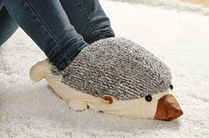 This giant hedgehog FEET warmer. | 22 Obnoxiously Cozy Things That'll Help You Embrace The Cold