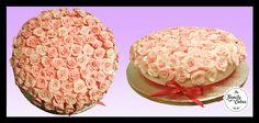 Bolo de Rosas / Roses Cakes / Wedding Cake - The Family Cakes