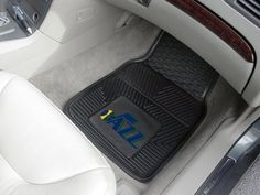NBA  Utah Jazz 2pc Vinyl Car Mats 17x27By BlueTECH ** Details can be found by clicking on the image.