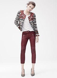 isabel marant pour h&m collection lookbook preview #HMisabelmarant