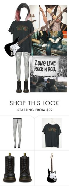 """""""⭐️Lets Make Music 2⭐️"""" by xxkatiehemmingsxx ❤ liked on Polyvore featuring Awake, Comme des Garçons, Dr. Martens and contestentry"""