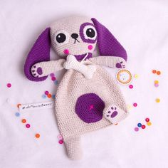 PATTERN Puppy Ragdoll crochet pattern amigurumi pattern