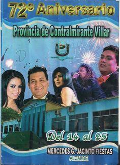 72º aniversario de la provincia de Contralmirante Villar en Tumbes