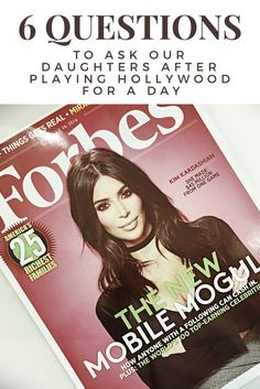 How Kim Kardashian's Hollywood app prompts mother daughter conversations about values.