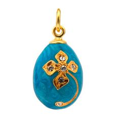 Skyfall Egg Pendant Blue, £56, now featured on Fab.