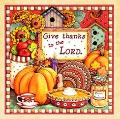 Thanksgiving by Karla Dornacher