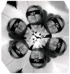 Photo Weegee (aka Arthur Fellig), ca. 1967, Portrait of Andy Warhol
