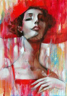 Ira Tsantekidou 1967 ~ Art Déco painter