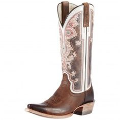 Ariat Alameda Brown Cowgirl Boots #CowboyCupidBeMine