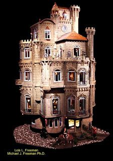 miniature castle = badass