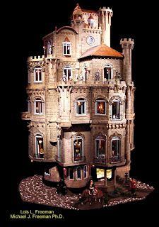 miniature castle = badass