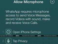 الواتساب يؤكد قدوم المكالمات الصوتية على iOS - عالم التقنية