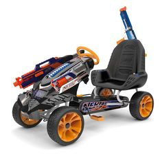 This Nerf Battle Racer Will Forever Change How Your Kids Have Nerf Battles!
