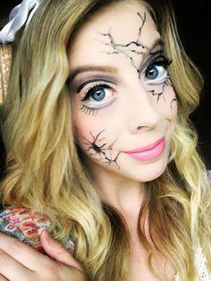 Kindly Unspoken | Spooktacular Halloween Makeup Looks | Broken Doll http://www.kindlyunspoken.com