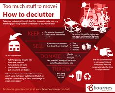 How to declutter before moving house, or even just how to start your spring clean!