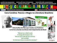 Cora Coralina é Poesia Brasileira (textos+vídeos no Blog)