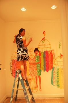 Lilly Pulitzer shop