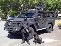 Armoured Rescue Vehicle launched in Cairns - Far North Police, or military?! Rescue vehicle or assault vehicle?! I don't like the way this is shaping up.