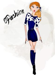 #Fashion #art #illustration #women #style #