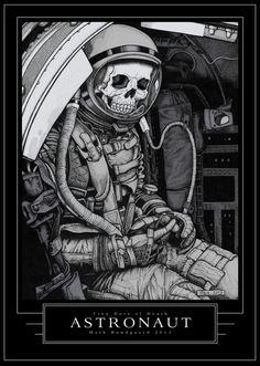 Astronaut by *MarkBundgaard on deviantART