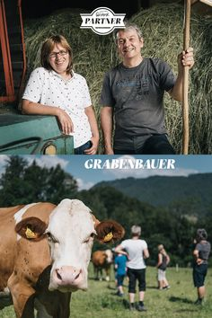 """Der Bio-Bauernhof liegt auf der """"Wieden"""" in #Mooslandl. Das Hauptaugenmerk des Hofes gilt dem Milchvieh.  #österreich #steiermark #gesäuse #gibtkraft  Foto: Stefan Leitner Baseball Cards, Sports, Dairy Cattle, Trench, Hs Sports, Sport"""