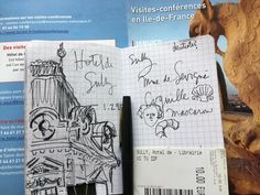 French Summer, France, Bullet Journal, French