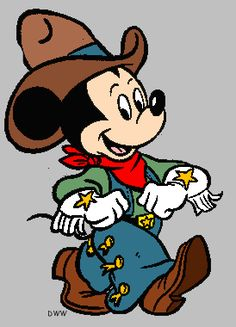 Mickey Mouse ~ Cowboy