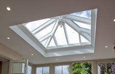 Westbury Garden Rooms, small roof lantern in timber orangerie extension Layout Design, Roof Design, House Design, Shop Layout, Ceiling Design, Orangery Roof, Kitchen Orangery, Conservatory Kitchen, Conservatory Ideas