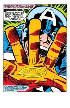 """""""We're all Americans!"""" - Jack Kirby"""