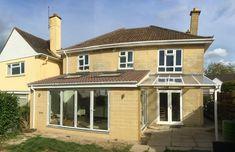 Gallery   Extensions & Conversions by Linebuild in Bristol & Bath Garden Room Extensions, House Extensions, Roof Extension, Extension Ideas, Dormer Loft Conversion, Cedar Cladding, Bath Uk, Exterior Rendering, Big Bedrooms