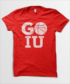 IU Basketball Tee - Indiana University
