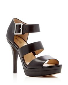 96ab0aaf4cd4 MICHAEL Michael Kors Finley High Heel Platform Sandals