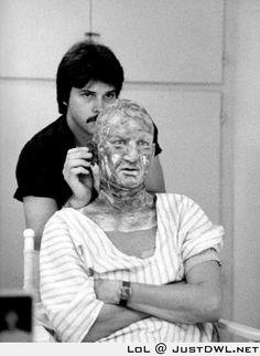 First make-up test for #Freddie #Krueger in
