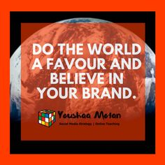 Believe in your brand. Thursday Quotes, Competitor Analysis, Work From Home Moms, Personal Branding, Believe In You, Teacher, Social Media, Entertaining, Twitter