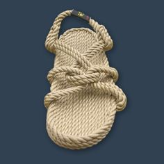 I'm a little obsessed with rope shoes...