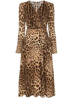 Shop online brown Dolce & Gabbana leopard print flared dress as well as new season, new arrivals daily. Vestidos Animal Print, Animal Print Dresses, Animal Prints, Flare Dress, Dress Up, Bodycon Dress, Bandage Dresses, Casual Dresses, Fashion Dresses