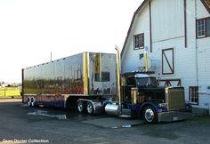 Rod Pickett's custom race car hauler in Marysville, Washington - great custom truck builder Rod is!