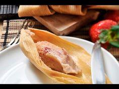 Tamales de fresa al estilo de Sonia Ortiz por Cocina al natural
