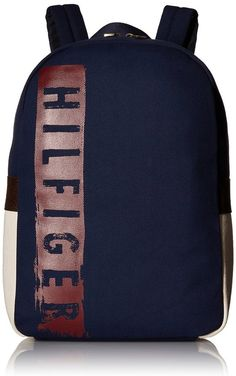 Tommy Hilfiger Hilfiger Backpack, Navy, One Size