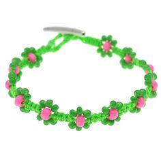 Tutorial - How to: Watermelon Macrame Bracelet   Beadaholique - so sweet