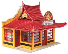 Walthers HO 933-3780 Golden Dragon Chinese Takeout Kit