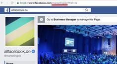 Anleitung & Workaround: Jede Facebook Seite im Statusupdate verlinken