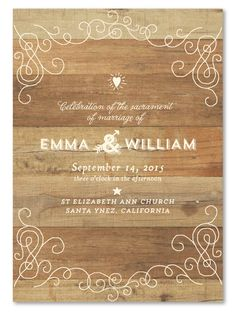 Rustic Wedding Programs ~ Elegant Back Country by ForeverFiances Weddings (unique on 100% recycled woodsy paper)