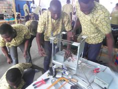 """Made in Africa with e-waste"" 3D printer campaign"