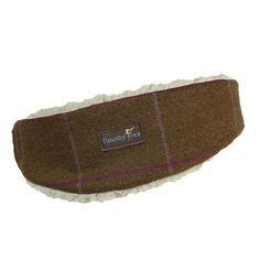 Harris Tweed Grey Herringbone with Checks   Flecks Luxury Ear Warmer  Headband  bd72c5bbe16