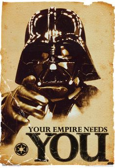 Star Wars Your Empire Needs You Movie Poster poster