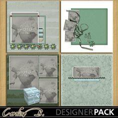 Happy Forever 12x12 Album 3-000  http://www.mymemories.com/store/designers/Caroline_B?r=carolineb