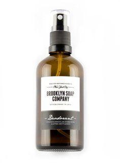 Brooklyn Soap Company Deodorant, Deospray 100ml