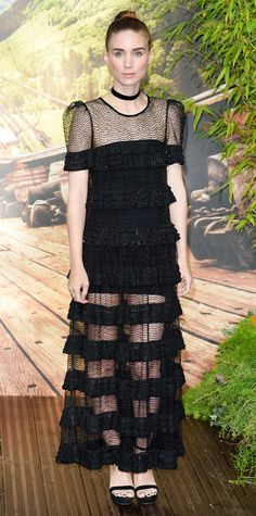 Rooney Mara's Red Carpet Style - In Givenchy Haute Couture, 2015 from InStyle.com